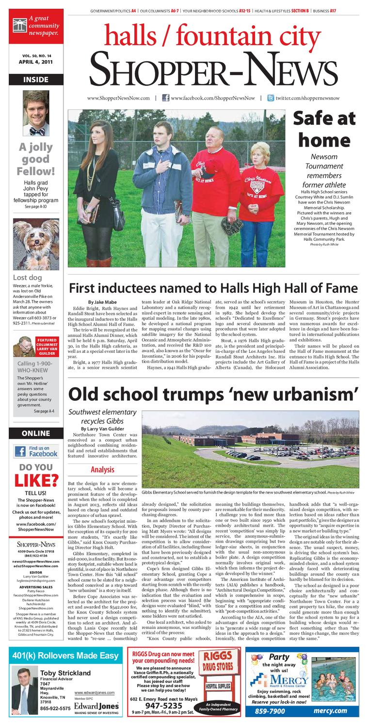 8f0d5c95d6 Halls Fountain City Shopper-News 040411 by Shopper-News - issuu