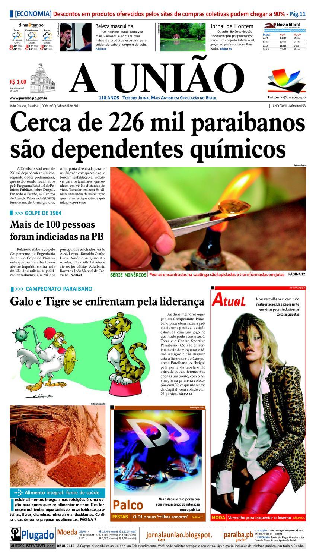 5f92cf27ff7eb JORNAL A UNIÃO by Jornal A União - issuu