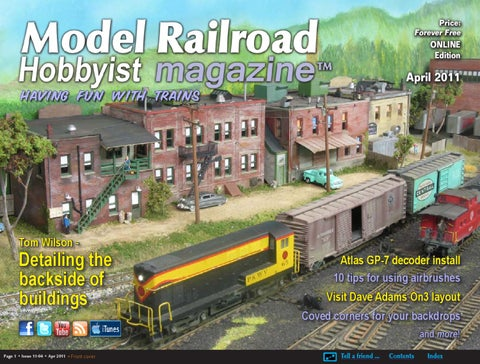 79c7f12db88 MRH Apr 2011 - Issue 11-04 by Model Railroad Hobbyist magazine - issuu