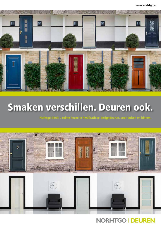 Nothgo deuren deurenboek direct online bekijken by for Norhtgo deuren
