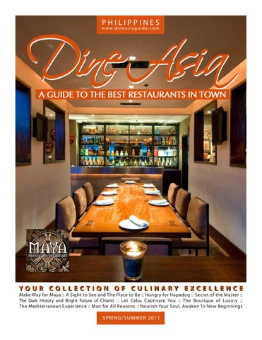 Dine Asia Spring Summer 2011 By Dominic Meily Issuu