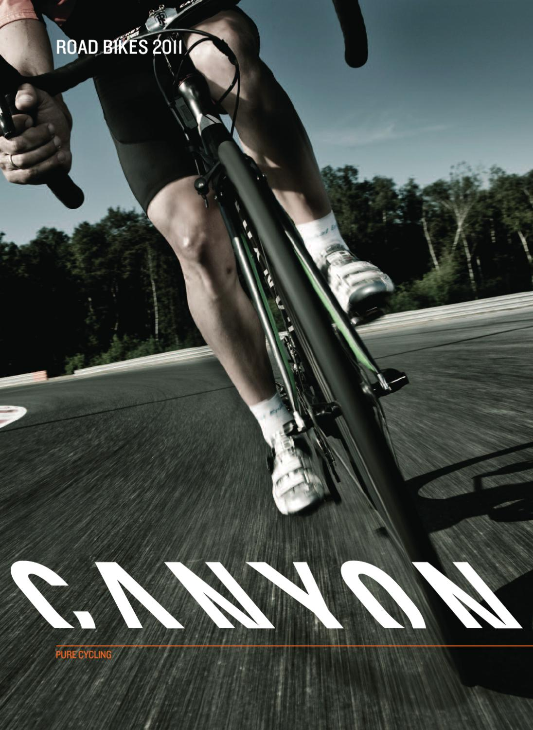 canyon roadbikes 2011 by canyon bicycles gmbh issuu. Black Bedroom Furniture Sets. Home Design Ideas