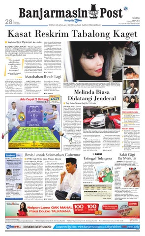 Banjarmasin Post Edisi Cetak Selasa 5 April 2011 by Banjarmasin Post ... dc4de1d67f