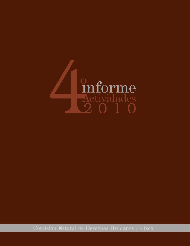 Informe 2010 Cedhj By Alma Lorena González García Issuu