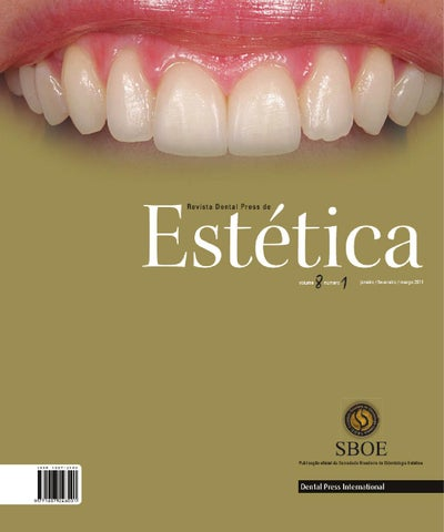 Estetica V08n01 By Dental Press International Issuu