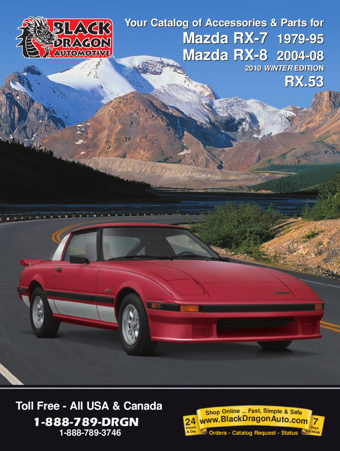 Black Dragon Auto FC3S Catalog By Brendon Mitchell   Issuu