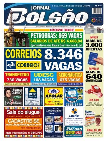 6f7fd9c7cb Edição 407 by Bolsão Jornal - issuu