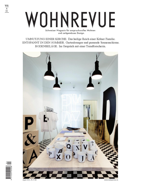 Wohnrevue 04 2011 by Boll Verlag - issuu