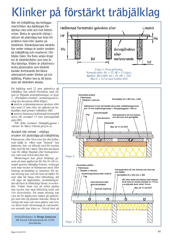 Inredning tätskikt våtrum : 8/10 Bygg & teknik by Bygg & teknik - issuu
