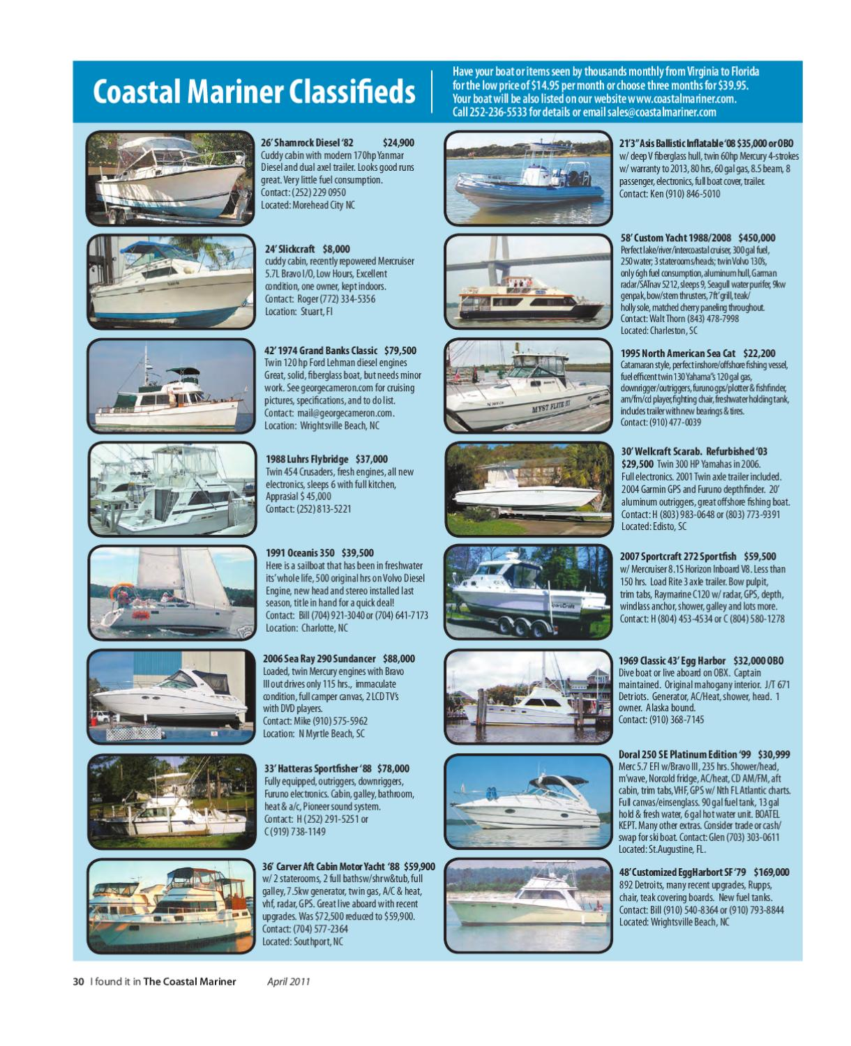 April issue by The Coastal Mariner magazine - issuu