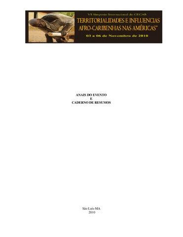 Vi simposio internacional cecab by eduardo aguiar issuu page 1 fandeluxe Images