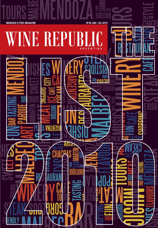 Wine Republic Edición Junio Julio 2010 By Wine Republic Issuu