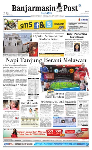 Banjarmasin Post Edisi Cetak Rabu 6 April 2011 by Banjarmasin Post ... c606f3a1d2