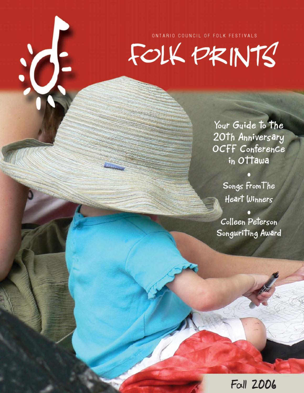 Folk Prints Fall 2006 by Folk Music Ontario - issuu