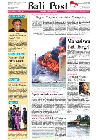 Edisi 6 April 2011   Balipost.com by e-Paper KMB - issuu
