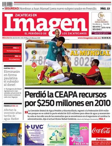 06-04-2011 by Grupo Editorial Zacatecas - issuu d45b923f40a89