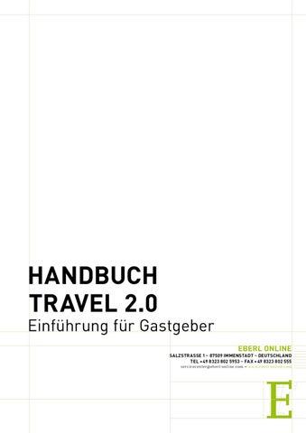 Travel Handbuch Gastgeber Allgemein by EBERL ONLINE - issuu