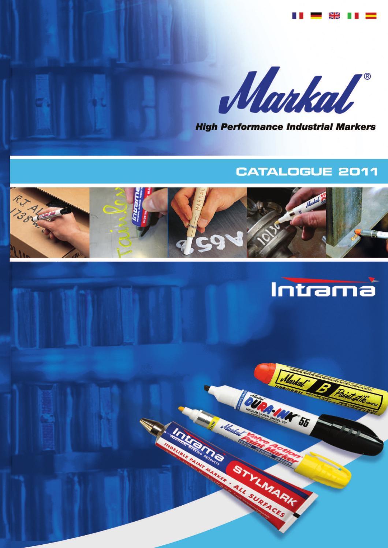 Nouveau Markal builders tous 4 couleurs marqueur résistant aux intempéries fade-résistants crayon