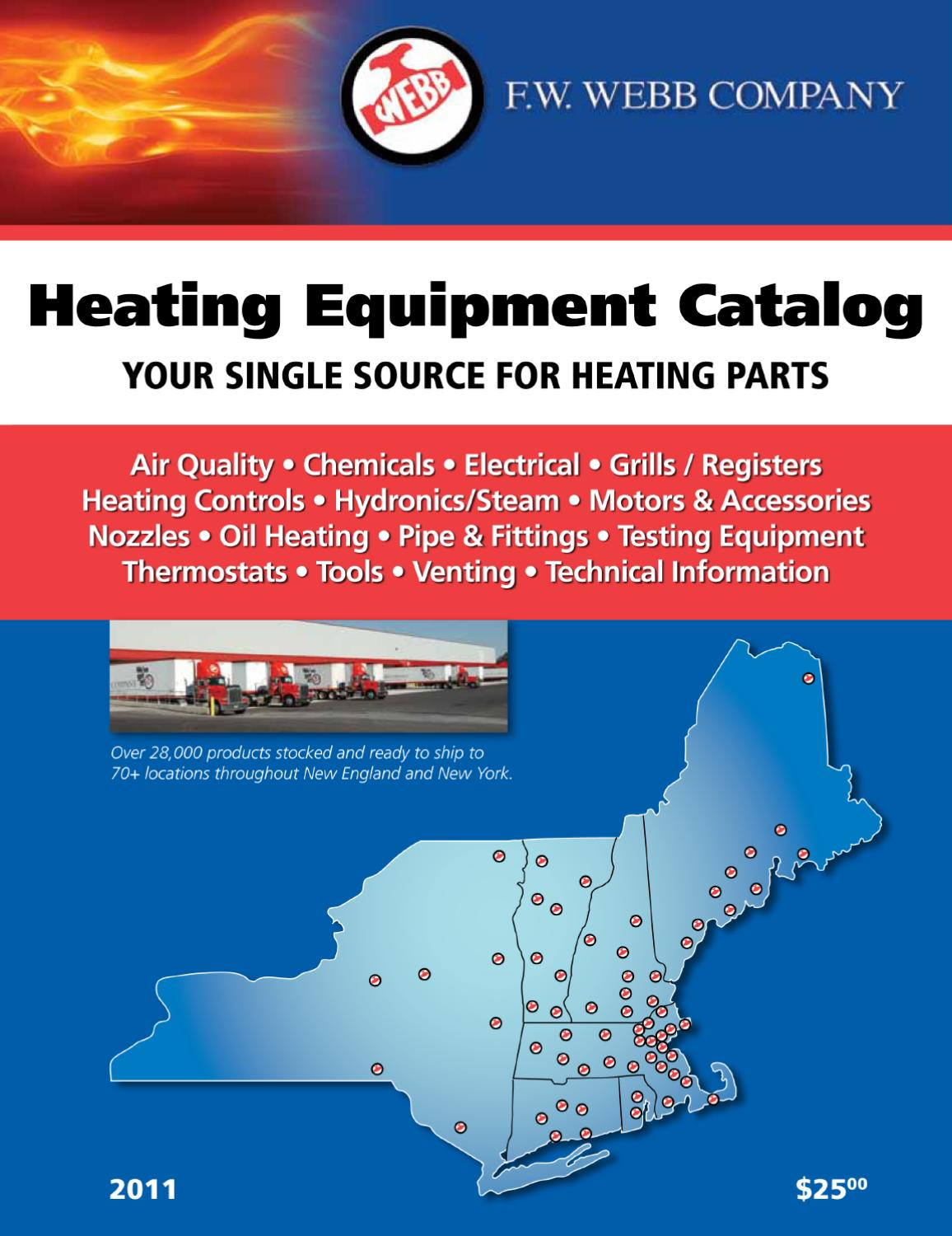 2011 Heating Catalog By Fw Webb Company Issuu Thermostat Heat And Cool 2 Transformers
