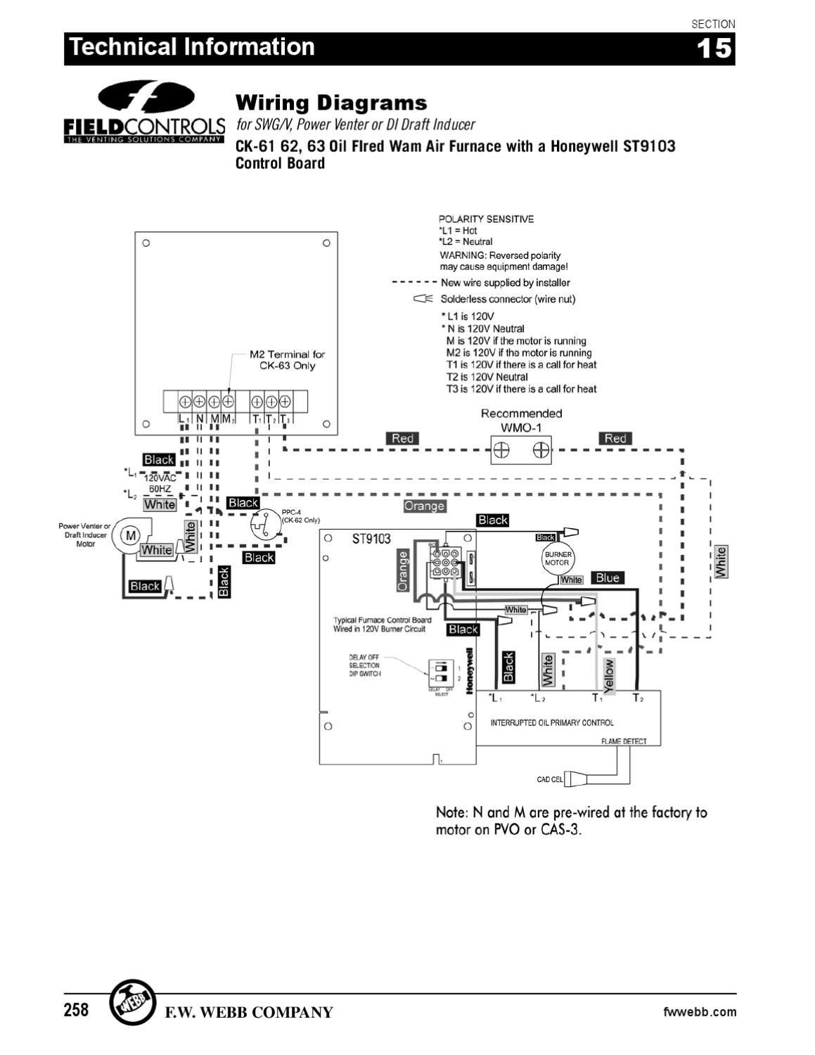 field controls power venter wiring diagram   42 wiring