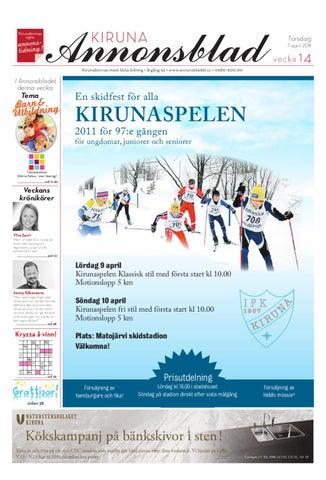 ac0224d7b0f Kiruna Annonsblad 2011 v.14 by Svenska Civildatalogerna AB - issuu
