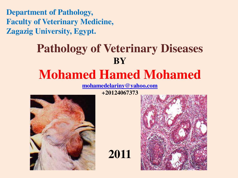Pathology of Poultry Diseases by Mohamed Hamed mohamed