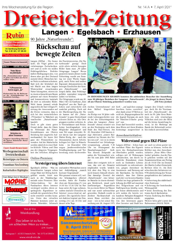 Dza 07 04 2011 By Dreieich Zeitung Offenbach Journal Issuu