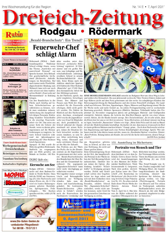 rolladen reparatur salzhausen bei gelbe dze 07 04 2011 by dreieich zeitung offenbach journal issuu. Black Bedroom Furniture Sets. Home Design Ideas