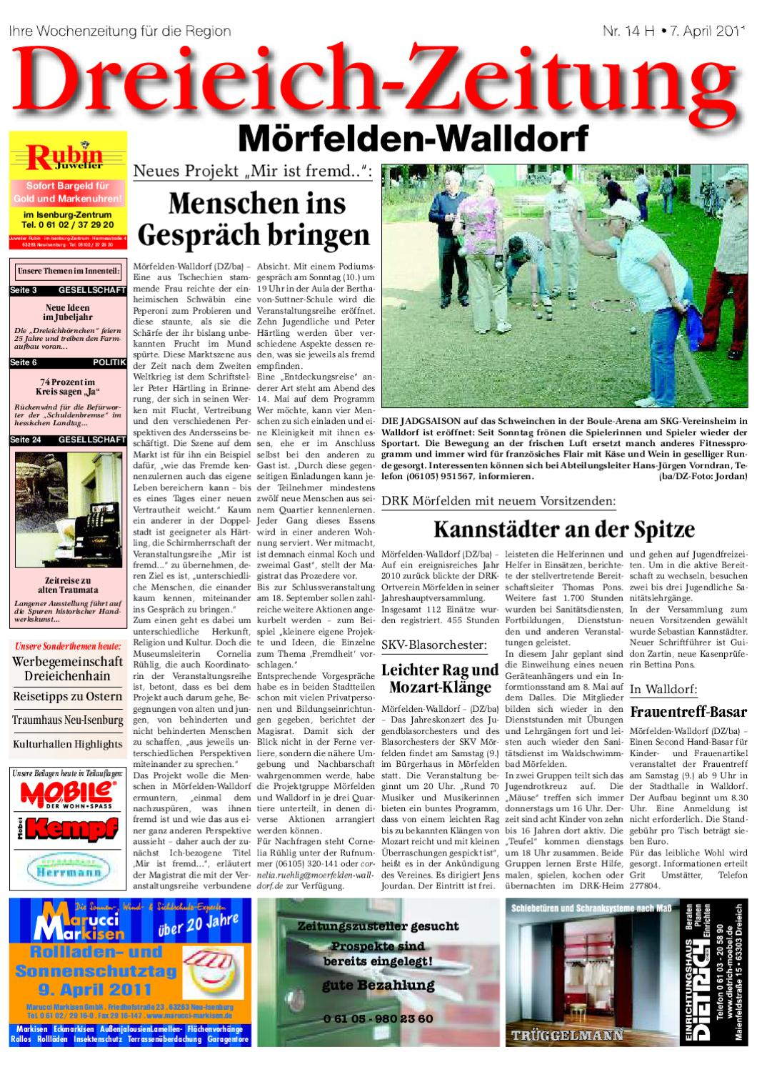 DZH 07-04-2011 by Dreieich-Zeitung/Offenbach-Journal - issuu