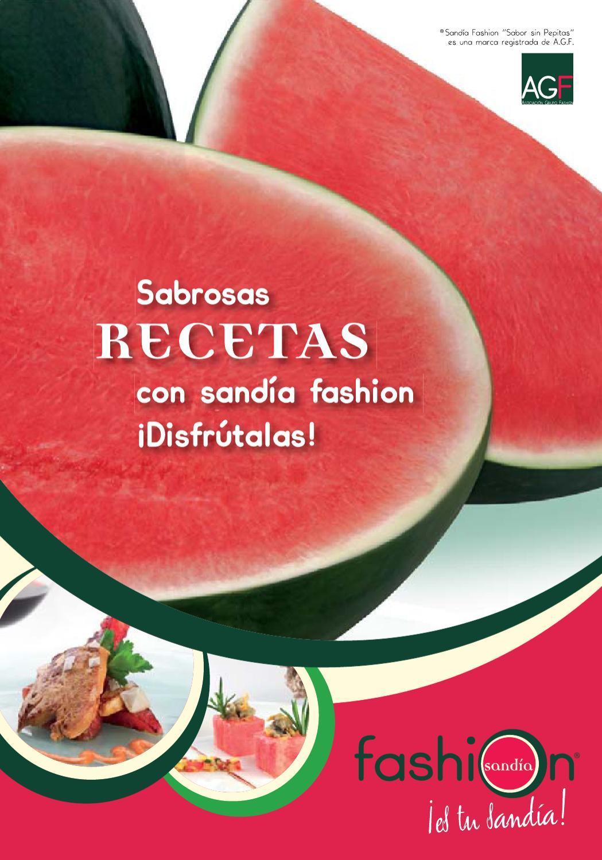 Recetas Con Sandía Fashion By Sandia Fashion Issuu