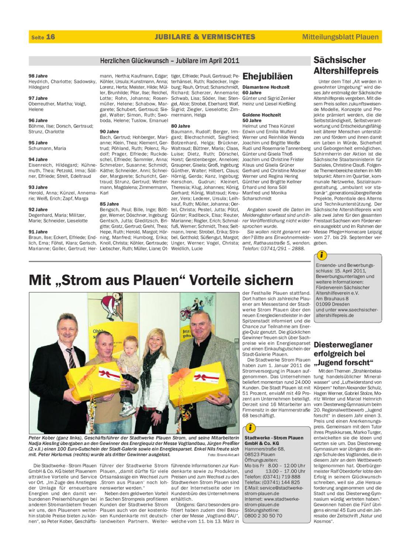 20110401_Amtsblatt_Plauen by Page Pro Media GmbH - issuu