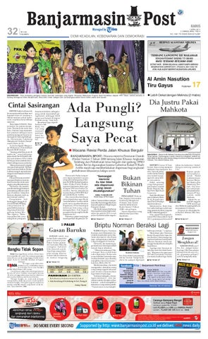 Banjarmasin Post Edisi Cetak Kami 7 April 2011 by Banjarmasin Post ... bb2af17966