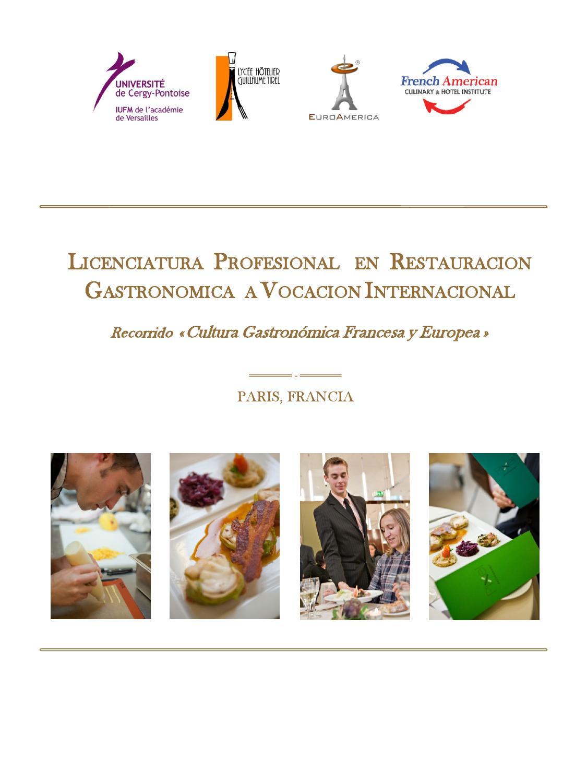 estudia en paris francia con euroamerica by muriel algazi ForFrancia Cultura Gastronomica