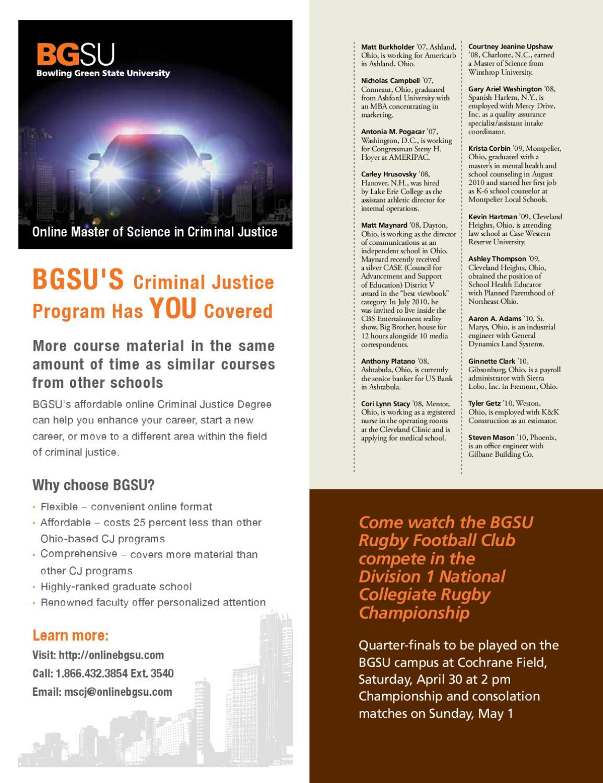 BGSU Magazine: Spring 2011 by BGSU - issuu