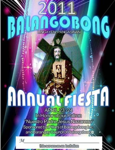 Pillars of balangobong inc 2010 fiesta souvenir program by dino page 1 m4hsunfo