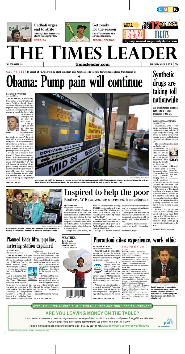 Times Leader 04-07-2011 by The Wilkes-Barre Publishing Company - issuu c0471fc8b