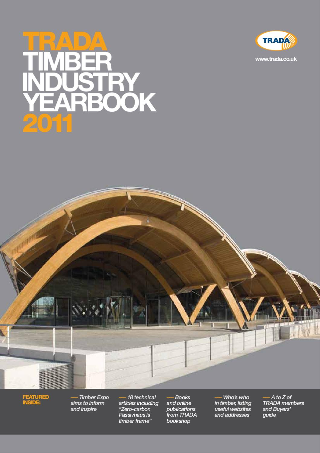 Trada timber industry yearbook 2011 by open box media trada timber industry yearbook 2011 by open box media communications issuu malvernweather Gallery