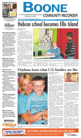 Boone community recorder 040711 by enquirer media issuu page 1 publicscrutiny Image collections