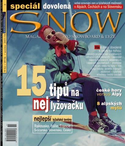 SNOW 08 SPECIÁL DOVOLENÁ - listopad 2003 by SNOW CZ s.r.o. - issuu 3bc4bec555