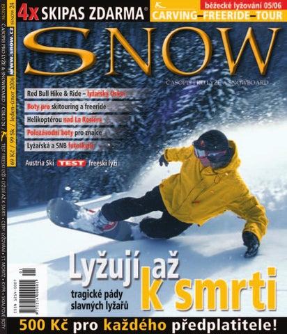 SNOW 24 - leden-únor 2006 by SNOW CZ s.r.o. - issuu 2edadcd887