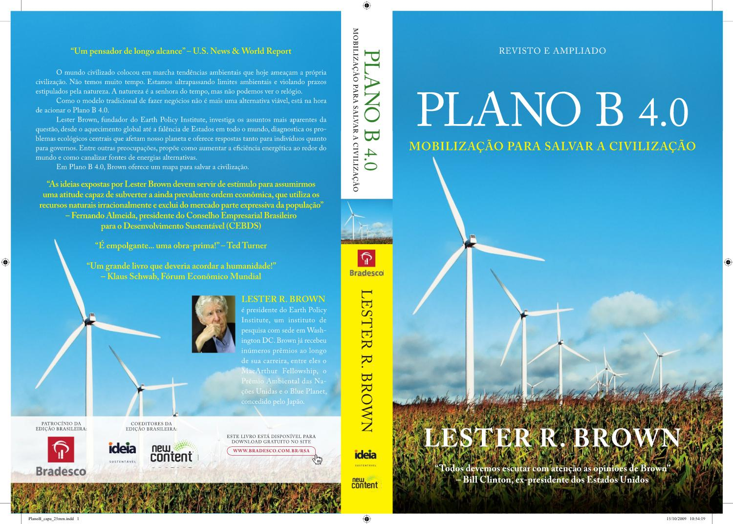887d170dc3e Lester Brown - Plano B 4.0 by Reciclo Inteligência Ambiental S A - issuu