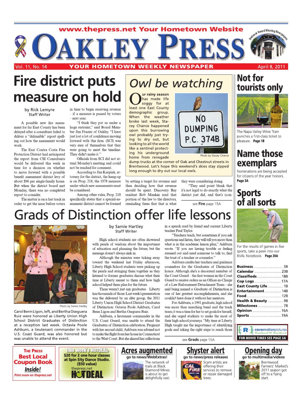 Oakley Press_04 08 11 by Brentwood Press & Publishing - Issuu