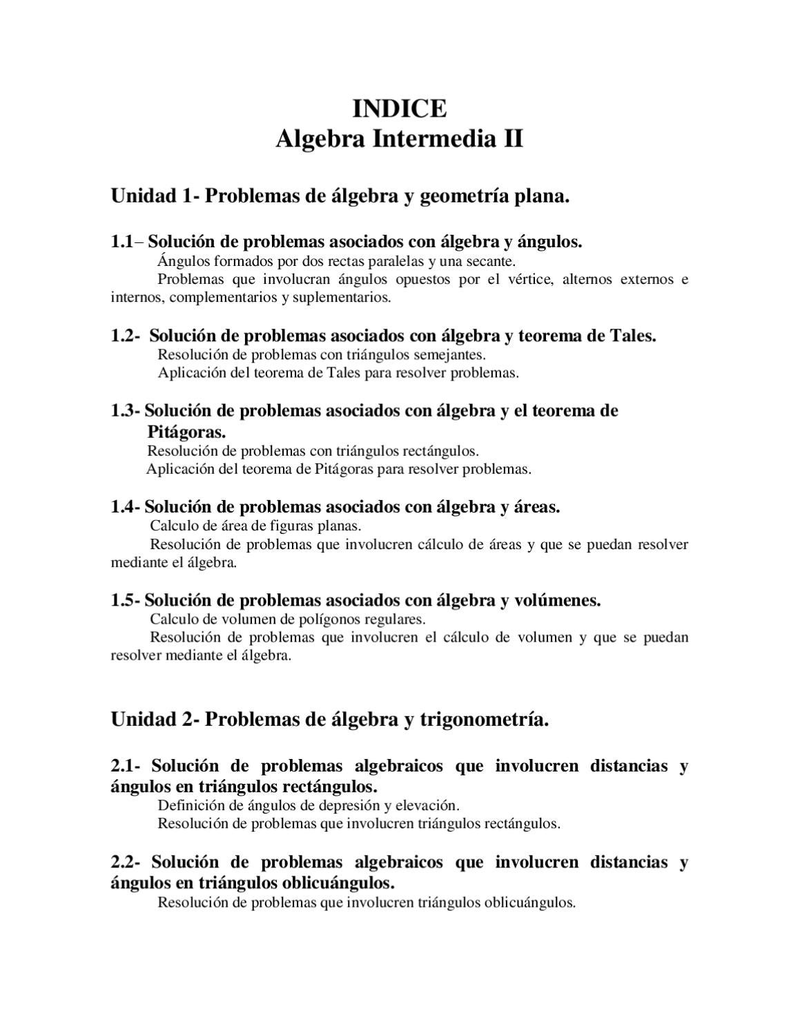 Algebra Intermedia 2 by Moisés Soto - issuu