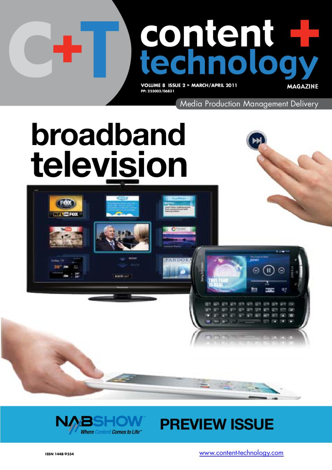 Content + Technology March April 2011 issue by