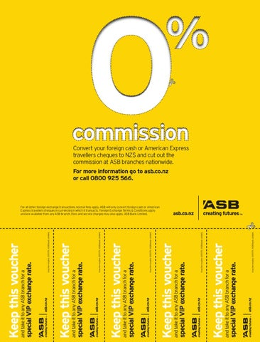 Asb Bank Limited Special Vip Exchange Rate