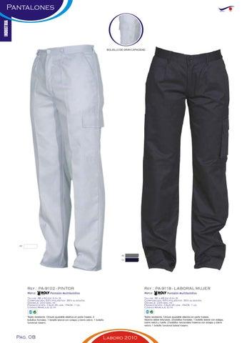 d1966693609 Page 10. INDUSTRIA. Pantalones. BOLSILLO DE GRAN CAPACIDAD. 01. 46 55. Ref.:  PA-9102 - PINTOR