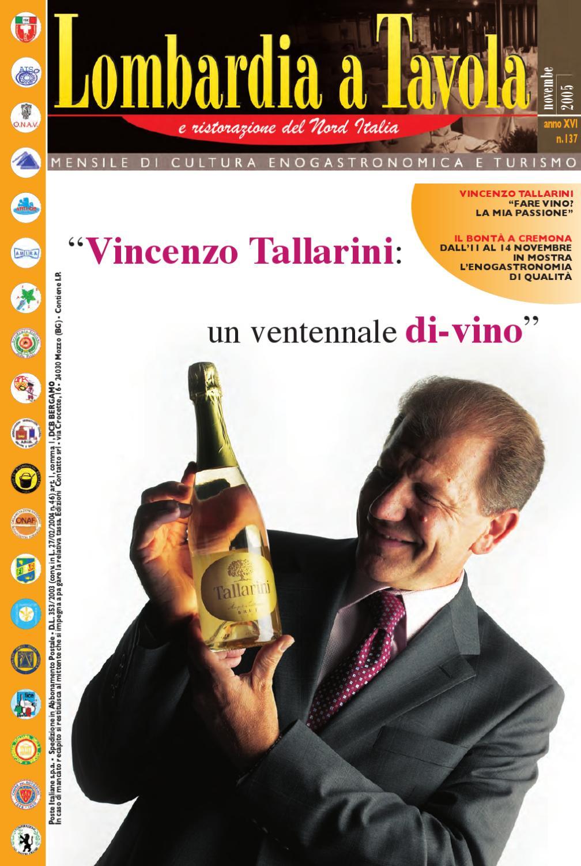 Vincenzo Dascanio Nuova Boutique A Bergamo : Lombardia a tavola novembre by italia