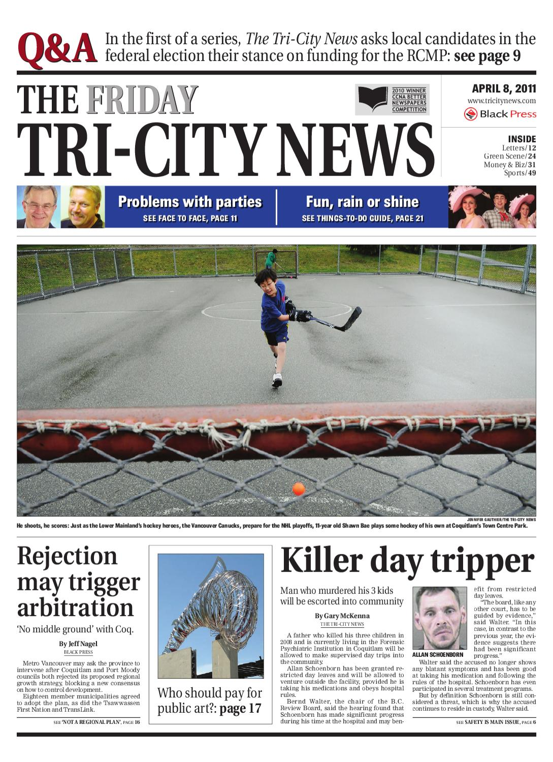 Friday, April 8, 2011 Tri-City News