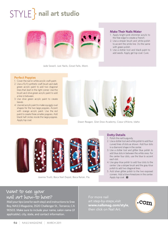 Nails Magazine March 2011 by Bobit Business Media - issuu