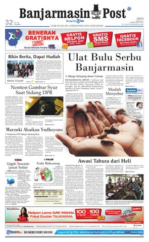 Banjarmasin Post edisi Cetak Sabtu 9 April 2011 by Banjarmasin Post ... 2f8681f425